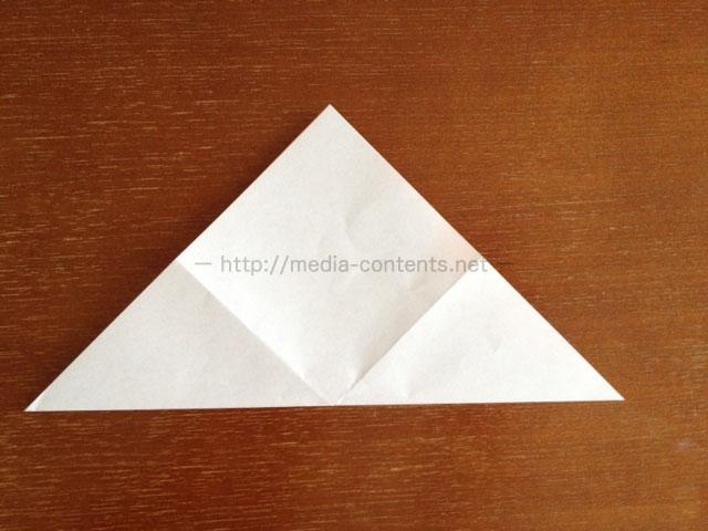 朝顔の折り方4