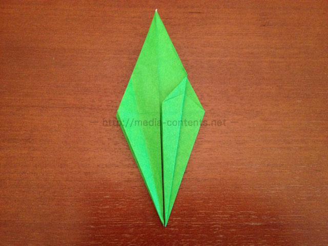 鶴の折り紙22