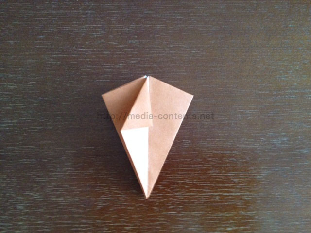 朝顔の折り方18