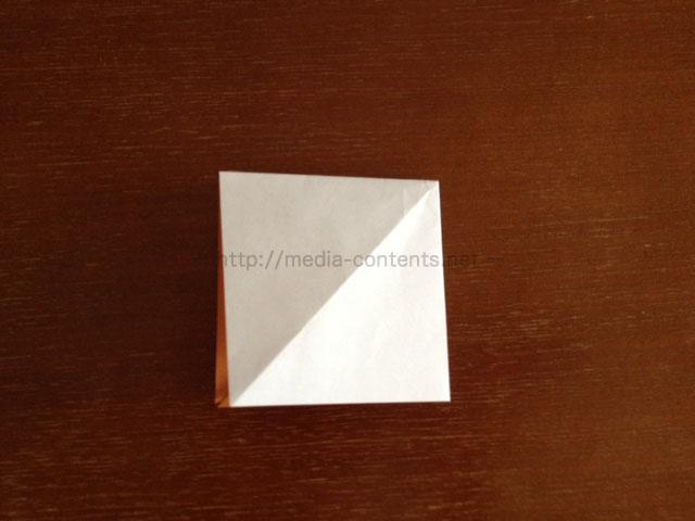 朝顔の折り方8