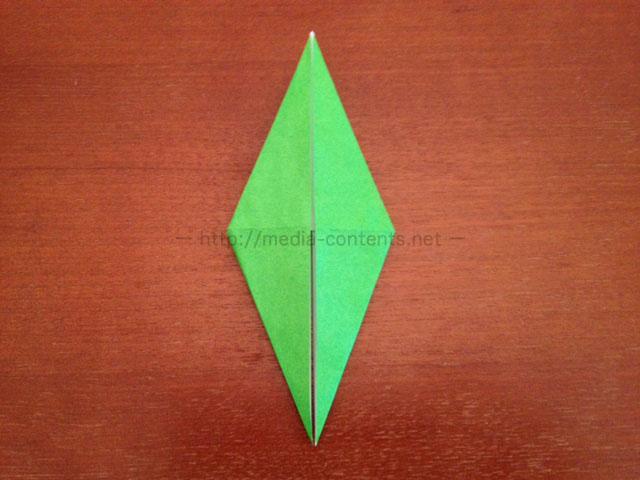 鶴の折り紙21