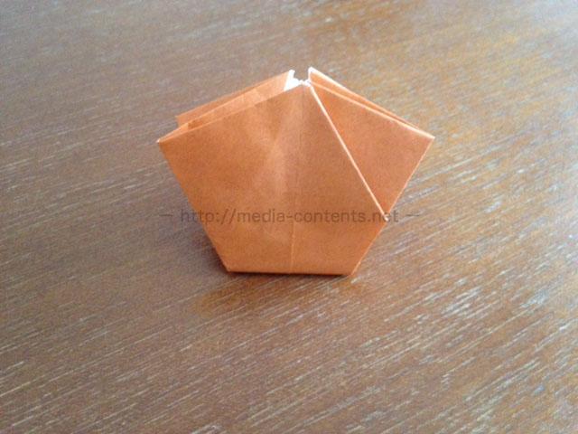 朝顔の折り方21