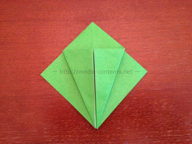 鶴の折り紙9