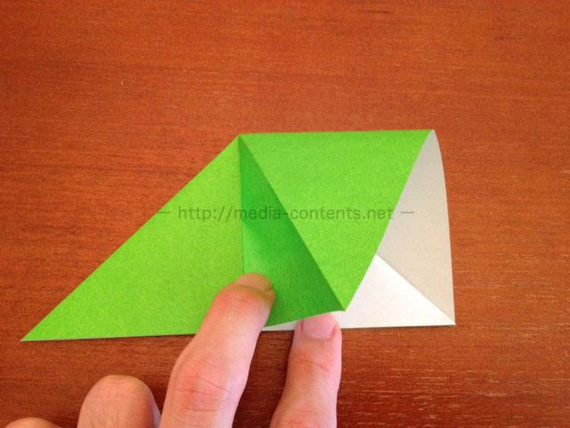 鶴の折り紙6
