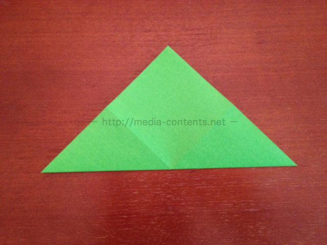 鶴の折り紙3