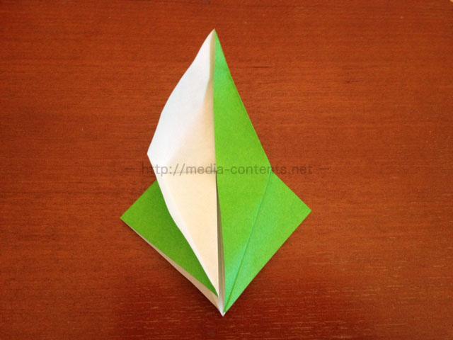 鶴の折り紙15