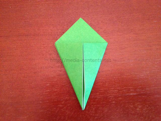 鶴の折り紙11