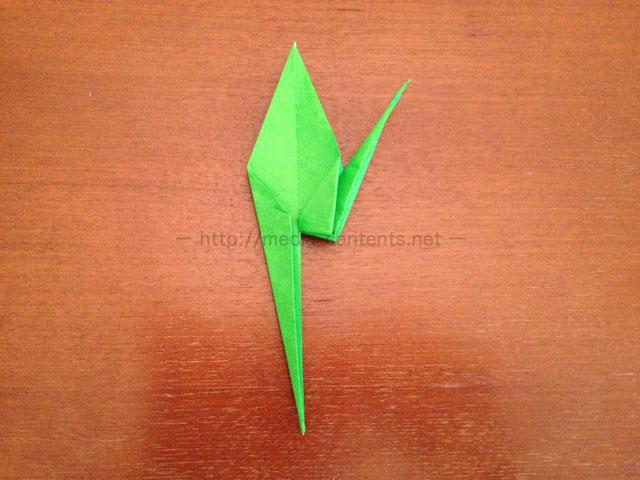 鶴の折り紙16