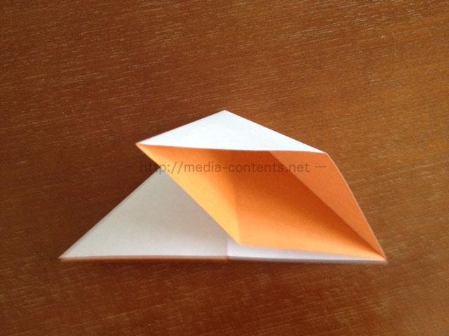 朝顔の折り方6