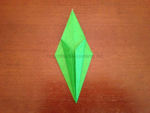 鶴の折り紙23