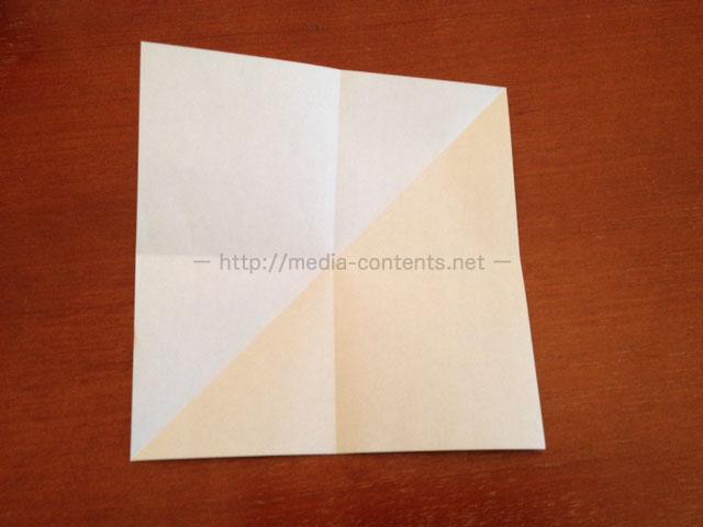 鶴の折り紙4