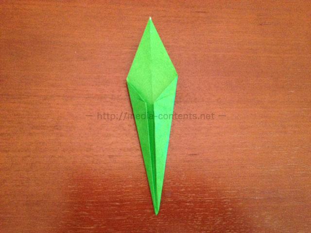 鶴の折り紙24