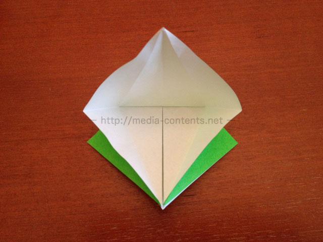 鶴の折り紙14