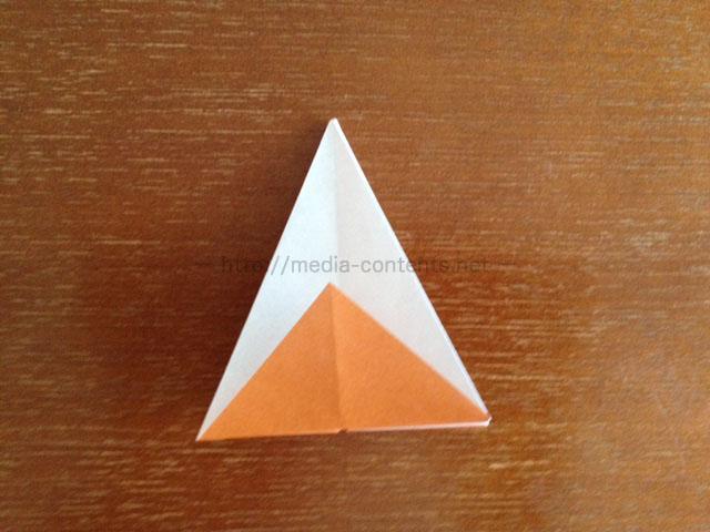 朝顔の折り方15
