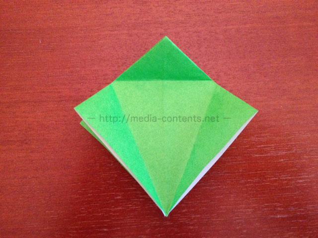 鶴の折り紙13