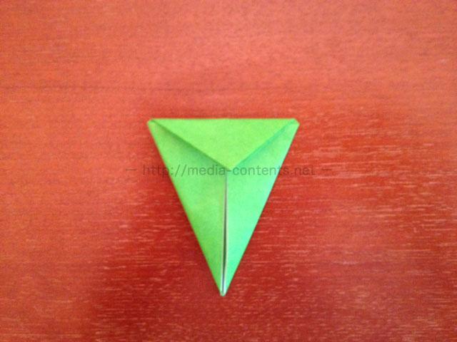 鶴の折り紙12