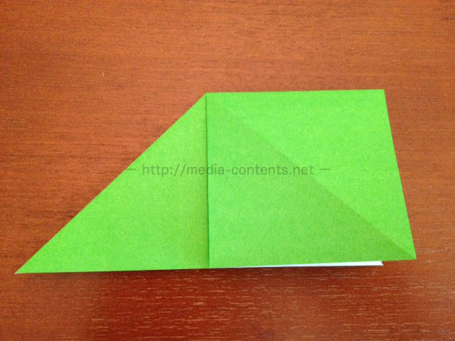 鶴の折り紙7