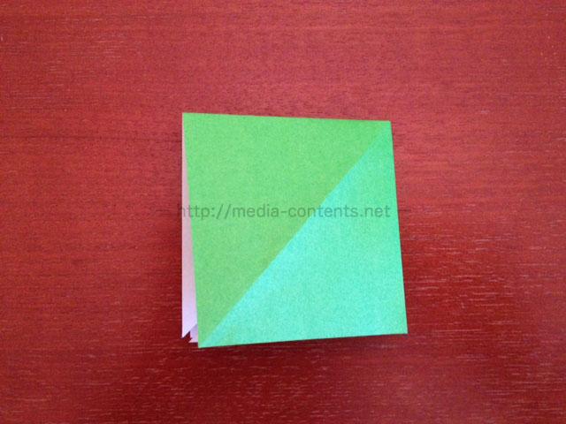 鶴の折り紙8