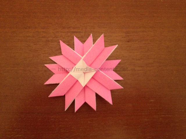 コスモスの簡単な折り方!折り紙で秋の花を咲かせよう!