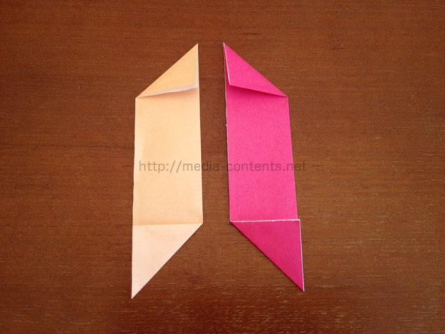 手裏剣の折り方4