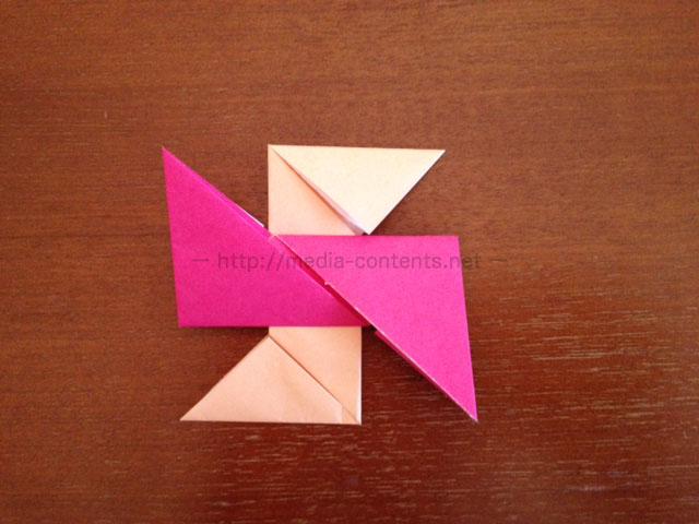 手裏剣の折り方12
