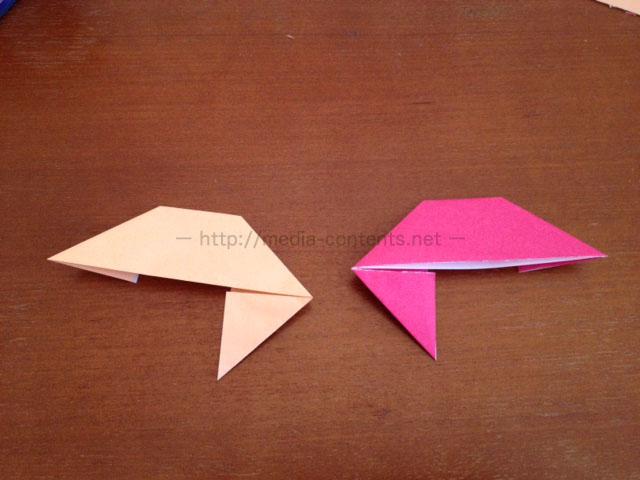 手裏剣の折り方5