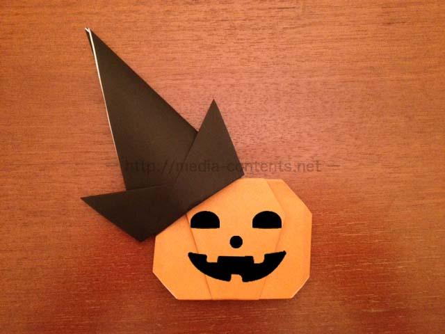 ハロウィン用に折り紙の立体帽子の折り方を解説!