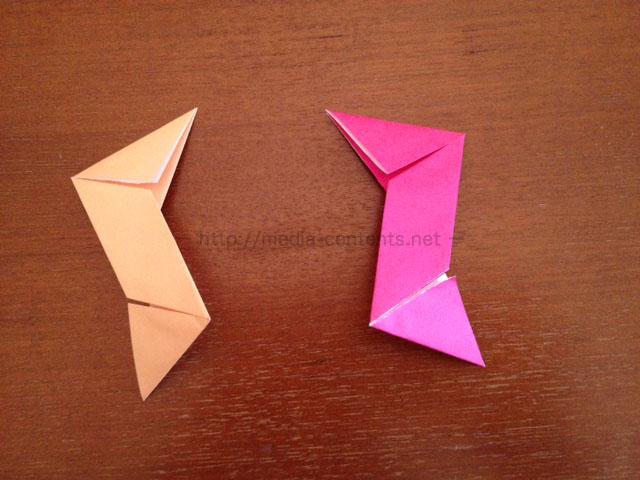 手裏剣の折り方7