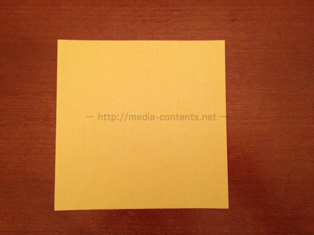 折り紙の箱のシンプルな折り方 ...