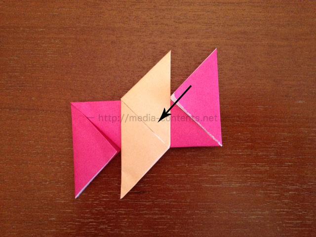 手裏剣の折り方11