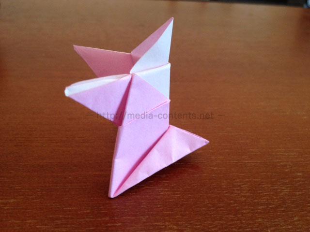 折り紙のトントン相撲の折り方!子供と紙相撲を作って遊ぼう!