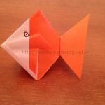 折り紙の金魚の折り方!立体的なのに簡単に折れます!
