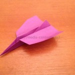 紙飛行機でジェット機を折ろう!簡単に作れるし意外と飛ぶ♪