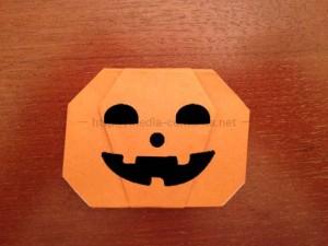 折り紙のかぼちゃの折り方!めちゃくちゃ簡単です♪