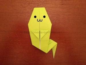 ハロウィンに使える!折り紙のおばけの折り方♪