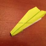 折り紙でやり飛行機を作ろう!簡単な折り方を説明♪