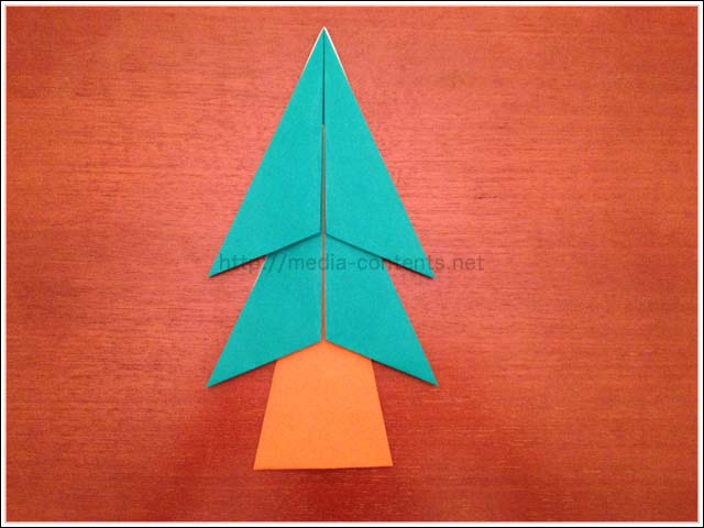 簡単 折り紙 折り紙 木 : media-contents.net