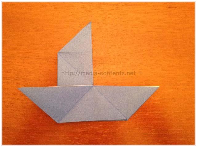 折り紙のだまし船の折り方!シンプルで簡単ですよ♪