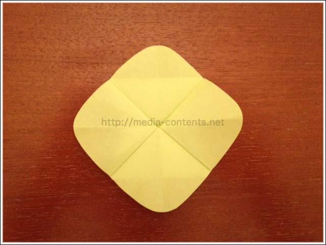 折り紙の菜の花の簡単な折り方!子供との室内遊びに♪