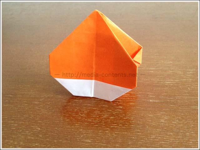 すべての折り紙 折り紙 食べ物 : 栗の折り紙の簡単な折り方 ...