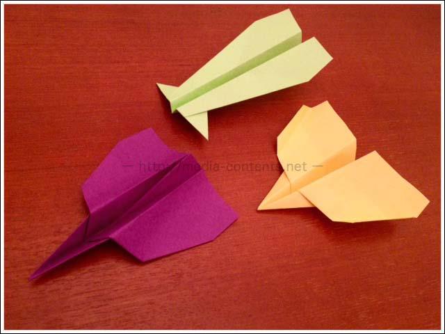 ハート 折り紙 折り紙 飛行機 よく飛ぶ : media-contents.net