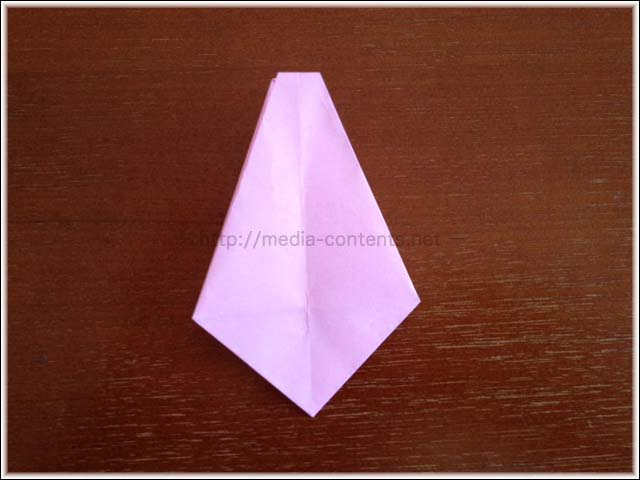 ハート 折り紙:折り紙 チューリップ 立体-divulgando.net